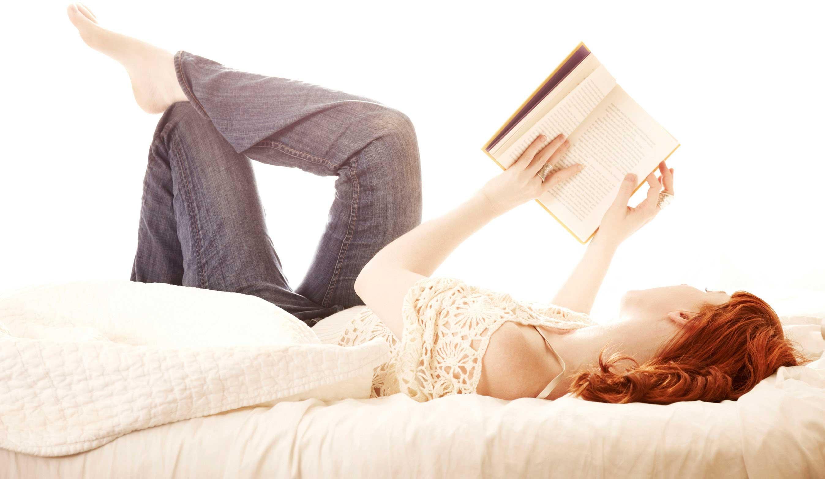 klein geluk, lekker een boek lezen