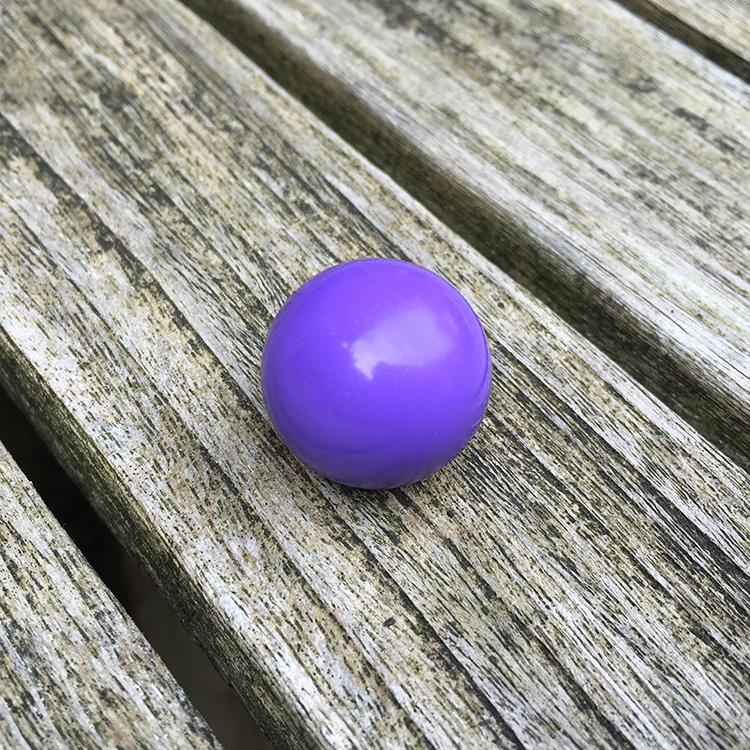 klankbol 20 mm paars
