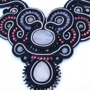 soutache collier Roos 3