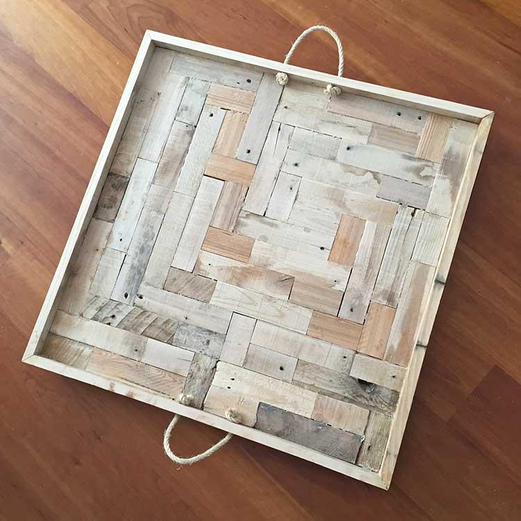 Dienblad 74x74 cm van Feelgoods.nl