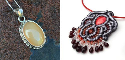 handgemaakte colliers van Feelgoods